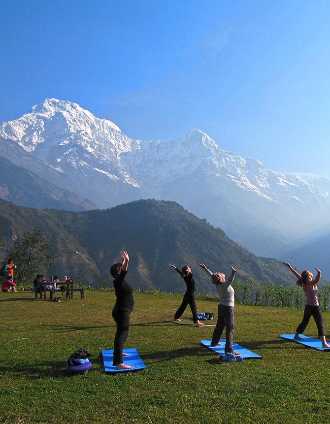 Himalayan Yoga Trek – Annapurna Foothills Trek