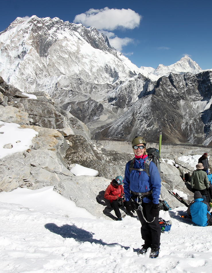 Lobuche Peak Expedition with Ice climbing training
