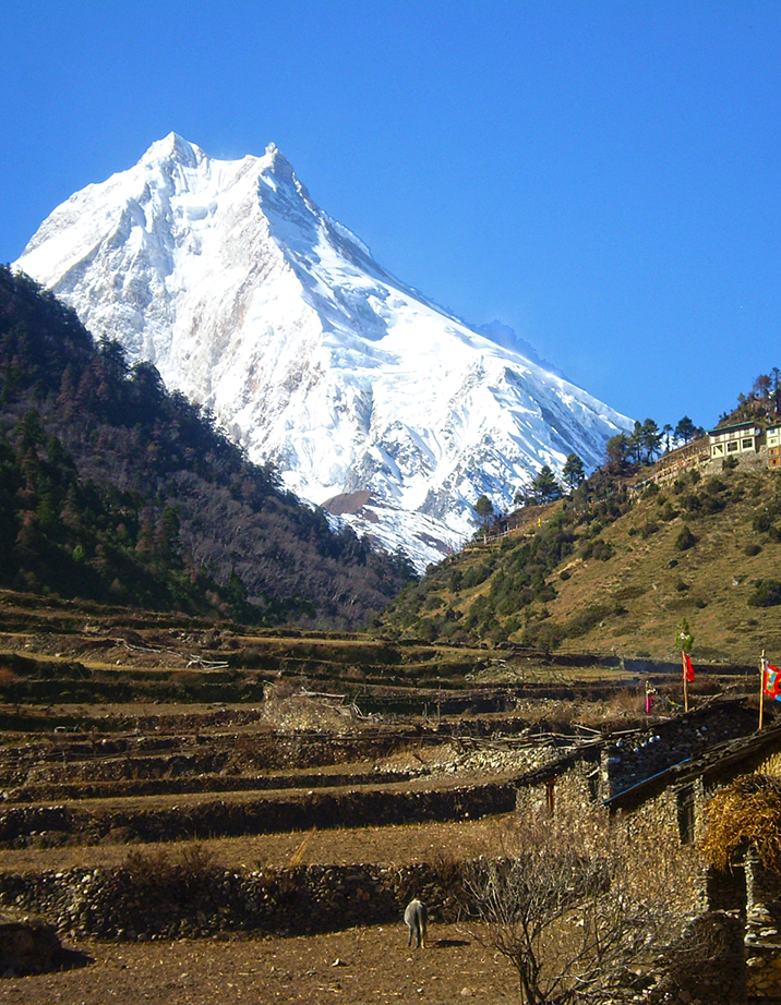 Around Manaslu (restricted area)