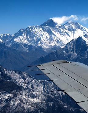 Mountain flight- Day trip