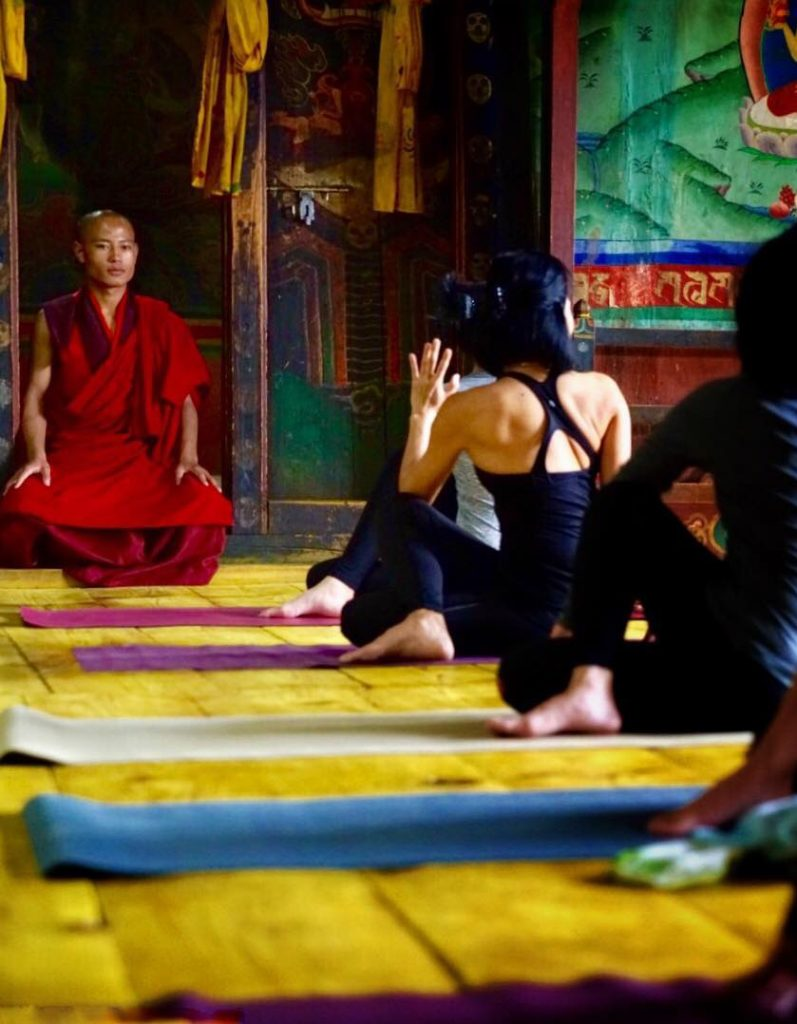 Bhutan Yoga Retreat with Kanchendzonga trek